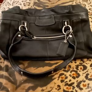 Authentic Leather Coach